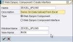 Uploading Excel files using WebDynpro