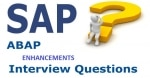 SAP ABAP Enhancements Interview Questions and Answers