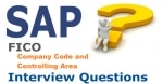 Company Code and Controlling Area Interview Questions