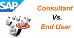 Difference between SAP End User and Consultant