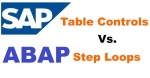 Difference between Table Controls and Step Loops in BDC