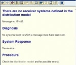 FI01 - There are no receiver systems defined in the distribution model