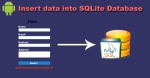 Insert data into SQLite database in Android