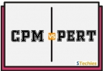 Difference between CPM and PERT