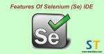 Selenium IDE Features