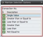 Add search criteria options in CRM UI