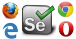 Selenium IDE Script Execution in Different Browsers