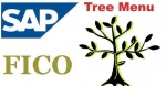 SAP FICO Tree Menu