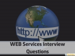 Top Best Web Services Interview Questions