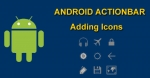 Adding Icons to Action Bar in Android