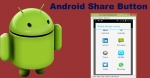 Share Button in Android App