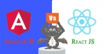 Difference between ReactJS and AngularJS