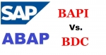 Difference between BAPI and BDC