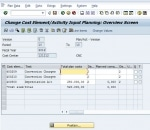 Cost center CTR RLIF/121212, cost element 400200: Tracing factor for splitting is zero Message no. KD301