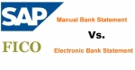 Difference Between Electronic and Manual Bank Statement