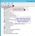 Install Microsoft Loopback Adaptor in Windows 2012
