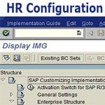 SAP HR Configuration Step by Step Procedure