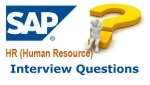 SAP HR Interview Questions for Experienced