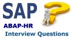 SAP HR ABAP Interview Questions and Answers