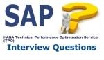 HANA Technical Performance Optimization Service (TPO) Interview Q&A