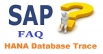 SAP HANA Database Trace Interview Questions and Answer