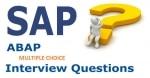 SAP ABAP Multiple Choice Interview Questions