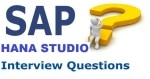 SAP HANA Studio Interview Questions and Answers