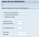 Input Service Distribution (ISD) Process GSTIN