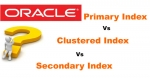 Difference between Primary Index, Secondary Index and Clustered Index